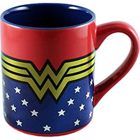 Wonder Woman- Logo & Stars 14oz Mug