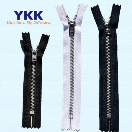 "YKK #5 Zipper- 7"" or 9"""