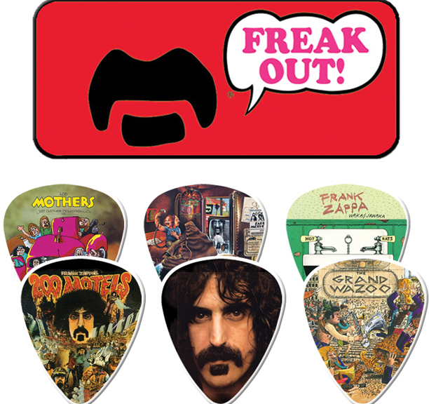 Frank Zappa- Freak Out! (Red) Guitar Picks In Collectors Tin