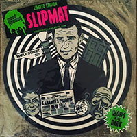 Rod Serling / Twilight Zone - Glow-in-the-dark Turntable Slipmat by Mood Poison