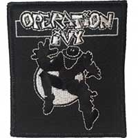 Operation Ivy- Ska Man embroidered patch (ep662)