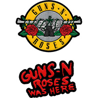 Guns N Roses- 2 Patch Set (ep206)