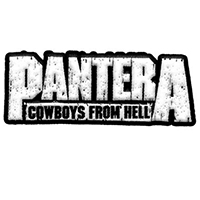 Pantera- Cowboys From Hell embroidered patch (ep200)