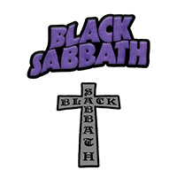 Black Sabbath- 2 Patch Set (ep207)