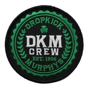 Dropkick Murphys- Crew embroidered patch (ep434)