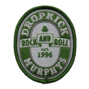 Dropkick Murphys- Rock And Roll embroidered patch (ep435)
