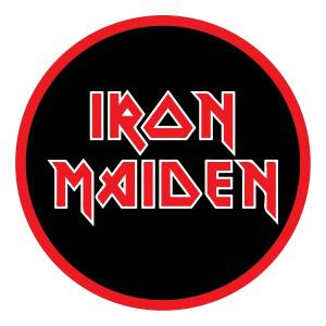 Iron Maiden- Stacked Logo Embroidered Patch (ep200)