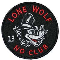 Lone Wolf Patch by Lucky 13 (ep334)