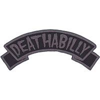 Deathabilly Embroidered Patch by Kreepsville 666 (ep941)