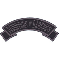 Daughters Ov Darkness Embroidered Patch by Kreepsville 666 (ep942)