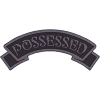 Possessed Embroidered Patch by Kreepsville 666 (ep945)