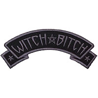 Witch Bitch Arch Embroidered Patch by Kreepsville 666 (ep100)