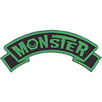 Monster Embroidered Patch by Kreepsville 666 (ep948)
