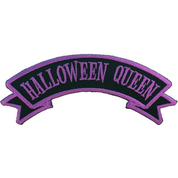 Halloween Queen Embroidered Patch by Kreepsville 666 (ep731)