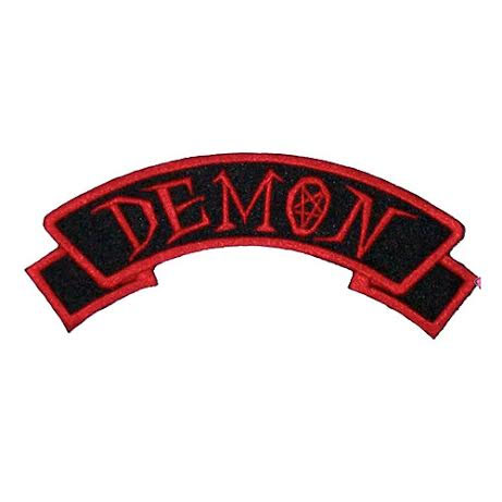 Demon Embroidered Patch by Kreepsville 666 (ep360)