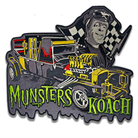 Munsters Koach Embroidered Back Patch by Retro-a-go-go