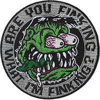 Are You Finking What I'm Finking? Embroidered Patch by Kreepsville 666 (ep951)