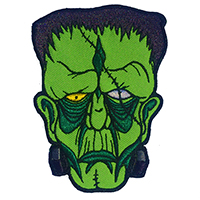 Allan Graves Monster Frankenstein Patch by Kreepsville 666 (EP357)