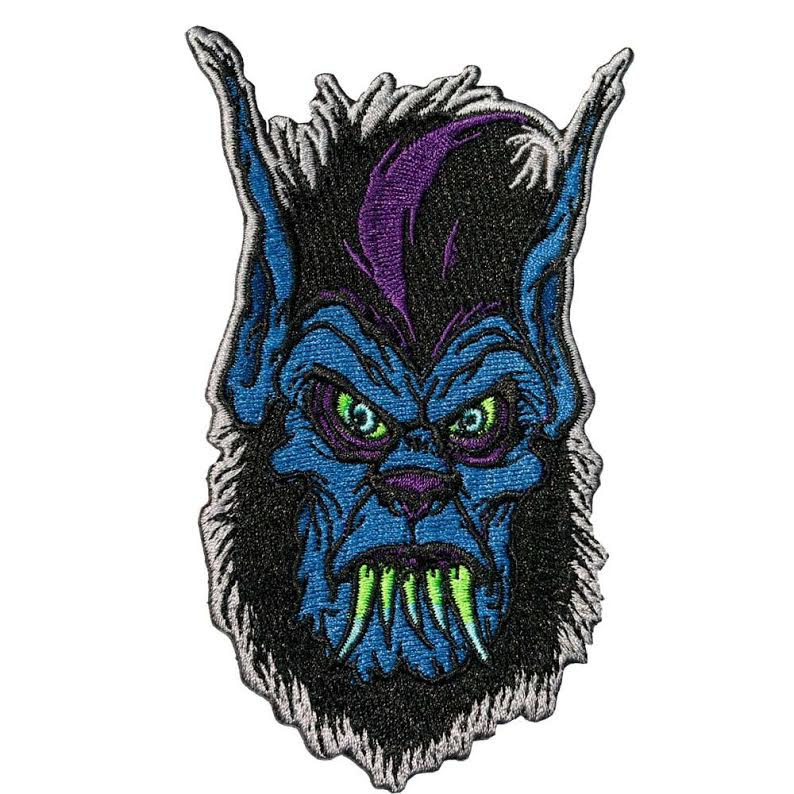 Toxic Toons Wolfie Head Patch by Kreepsville 666 (EP727)