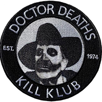 Vincent Price Dr Death Embroidered Patch by Kreepsville 666 (EP976)
