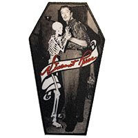 Vincent Price Skeleton Coffin Dance Embroidered Patch by Kreepsville 666 (EP974)