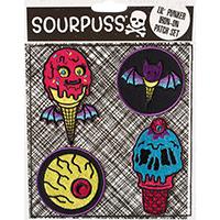 Ice Cream Creep Kids Lil Punker Patch Set by Sourpuss