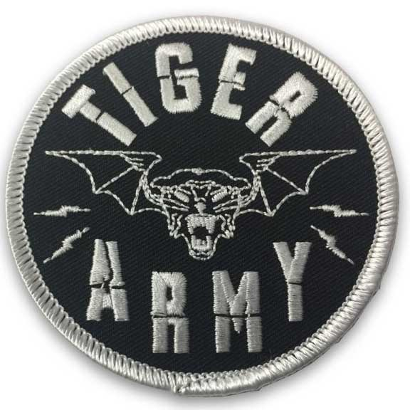 Tiger Army- Tigerbat embroidered patch (ep422)