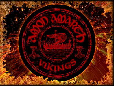 Amon Amarth- Vikings Sewn Edge Back Patch (bp6)