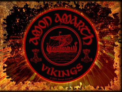 Amon Amarth- Vikings Woven Patch (ep499)