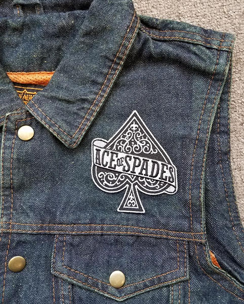 Ace Of Spades (Motorhead) Embroidered Patch