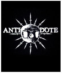 Antidote- Skull & Needles back patch (bp72)