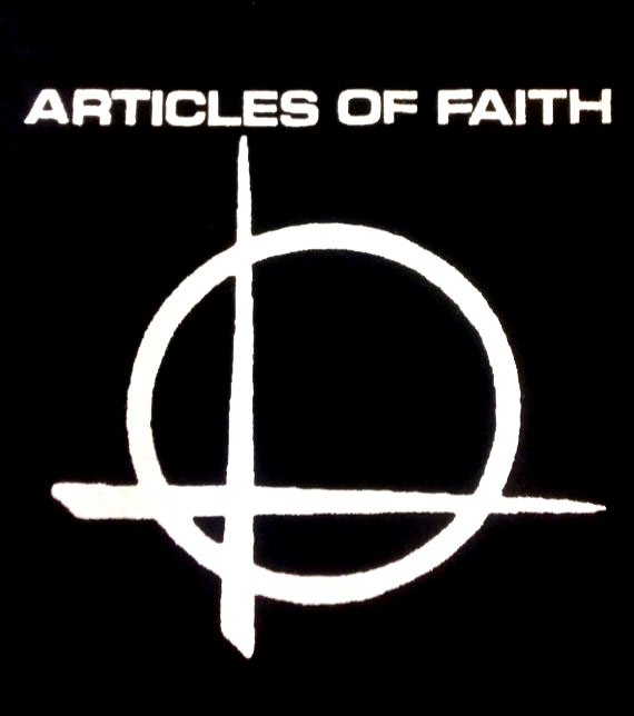 Articles Of Faith- Symbol back patch (bp473)
