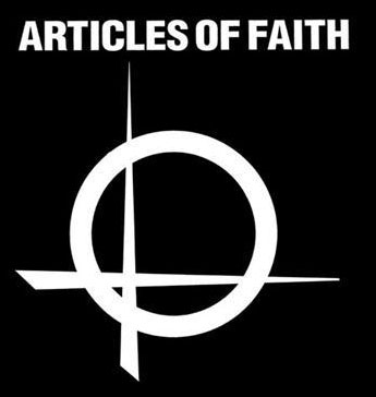 Articles Of Faith- Symbol cloth patch (cp230)