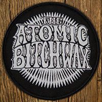 Atomic Bitchwax- Logo woven patch (ep913) (Import)
