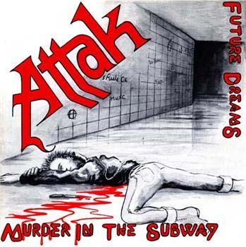 Attak- Murder In The Subway back patch (bp494)