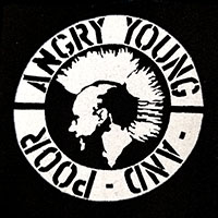 Angry Young And Poor cloth patch