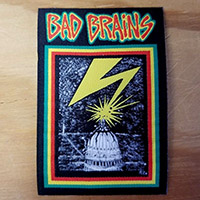 Bad Brains- Lightning woven patch