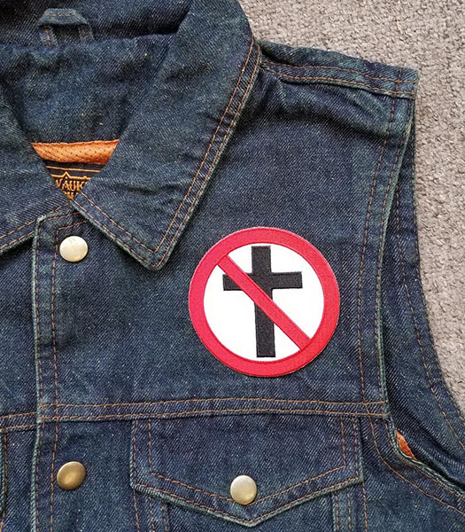 Bad Religion- Crossbuster embroidered patch