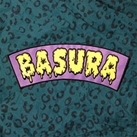 Basura Embroidered Back Patch by Mood Poison
