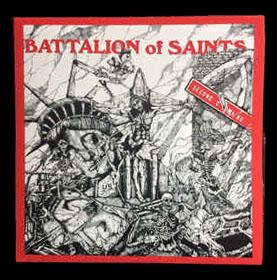 Battalion Of Saints- Second Coming back patch (bp475)