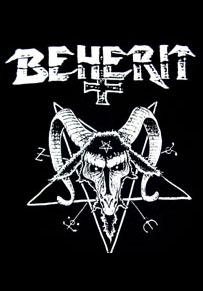 Beherit- Goat Skull back patch (bp390)