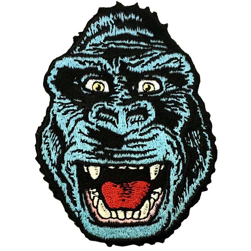 Blue Kong Embroidered Patch by Scumbags & Superstars (ep320)