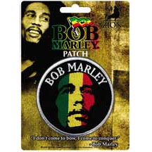 Bob Marley- Face embroidered patch (ep439)