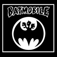 Batmobile- Batmosignal cloth patch (cp195)