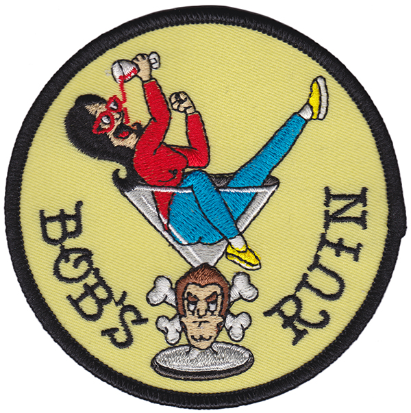 Bob's Ruin - Linda Belcher Embroidered Patch by Thrillhaus (EP741)