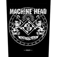 Machine Head- Crest Sewn Edge Back Patch (bp127)