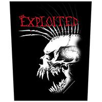 Exploited- Bastard Skull Sewn Edge Back Patch (bp117)