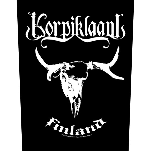 Korpiklaani- Finland Sewn Edge Back Patch (bp68)