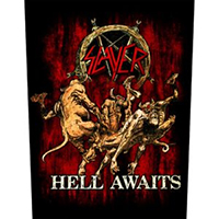 Slayer- Hell Awaits Sewn Edge Back Patch (bp100)