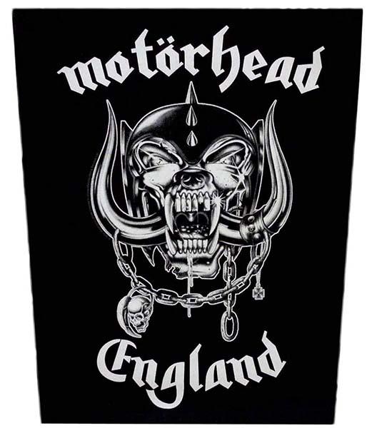 Motorhead- England Sewn Edge Back Patch (bp22)
